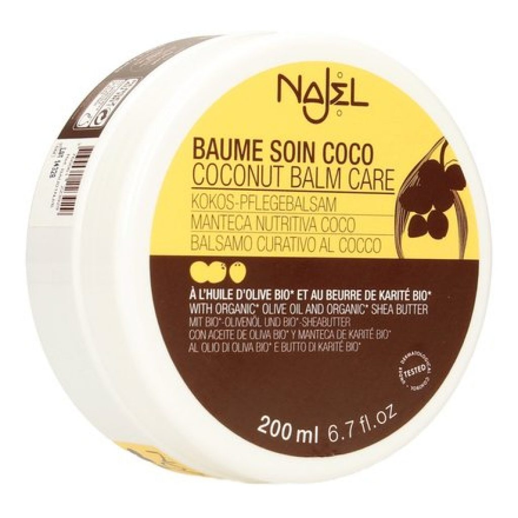 Najel Coconut hair and body butter